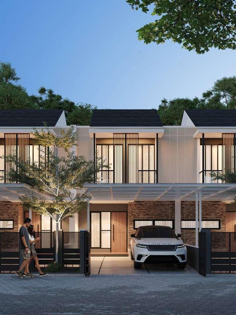 Tanpa DP dan Free Biaya All In. Dijual Rumah di Sukmajaya Dekat Stasiun Depok, 2 Lantai 800 Jutaan,LT 64 m, 3 KT, 2 KM