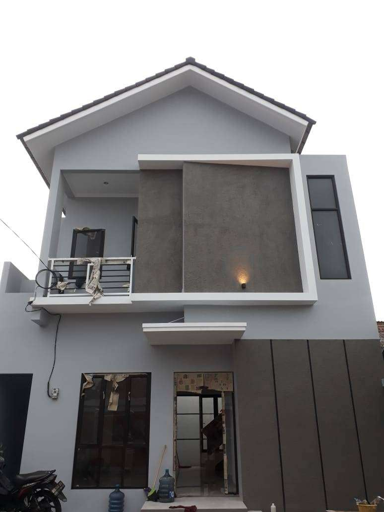 Rumah Dekat Brimob Kelapa Dua. Dijual Rumah di Tugu Cimanggis Depok, 2 Lantai 1.162 Juta. LT 83, 3 KT, 2 KM
